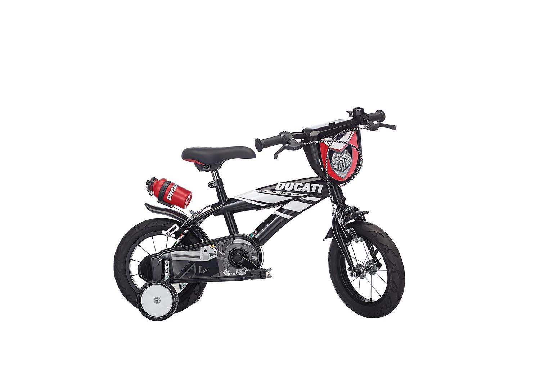 "Otroško kolo Ducati Hypermotard 12"" – Svetleča črna"