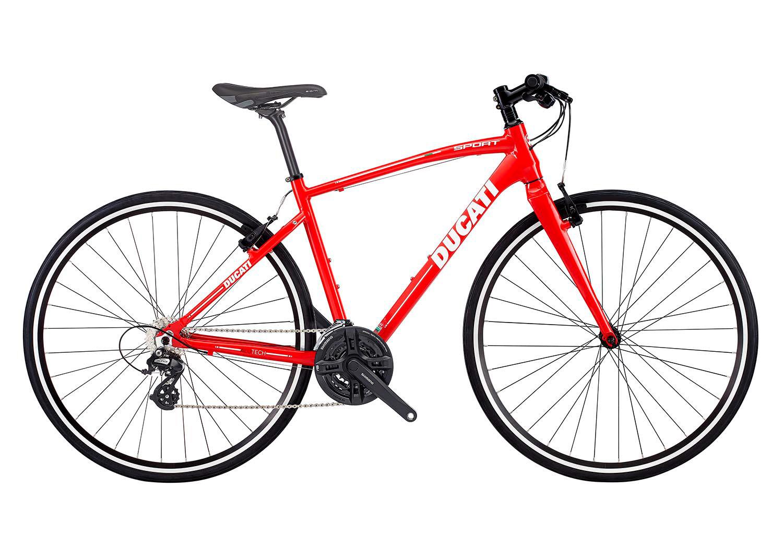 """Treking kolo Ducati Sport Disc 28"""" – Ducati rdeča"""