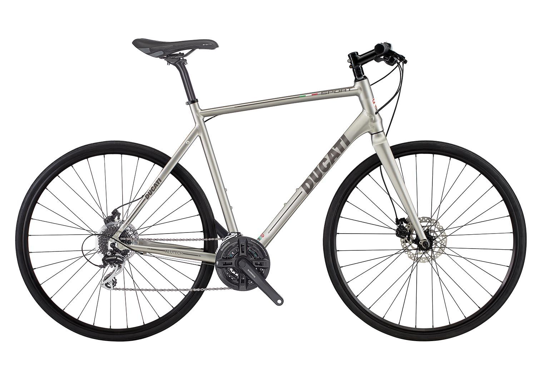 "Treking kolo Ducati Sport Disc 28"" – Mat titanium"