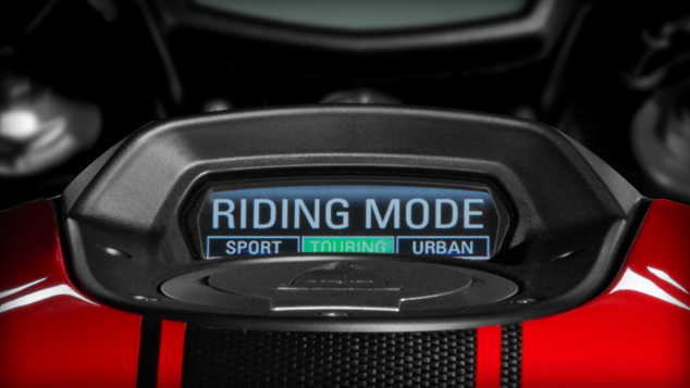 Ducati Diavel Riding Mode