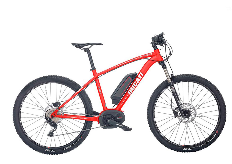 """Električno gorsko kolo Ducati E-400 27,5"""" – Ducati rdeča"""