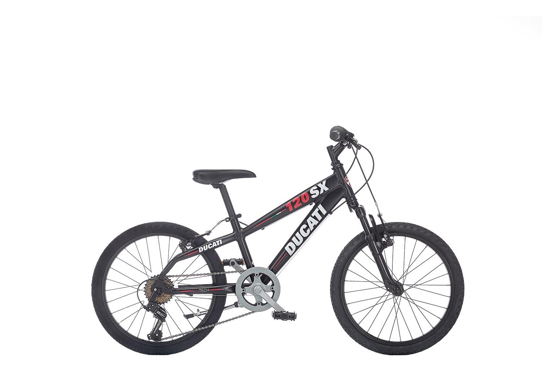 "Otroško kolo Ducati 120 SX 20"" – Mat črna"