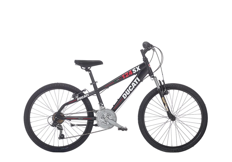 "Otroško kolo Ducati 124 SX 24"" – Mat črna"
