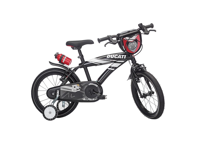 "Otroško kolo Ducati Hypermotard 16"" – Svetleča črna"